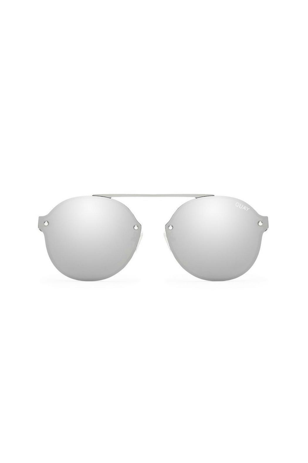 Quay Australia Camden Height's Sunglasses - Front Cropped Image