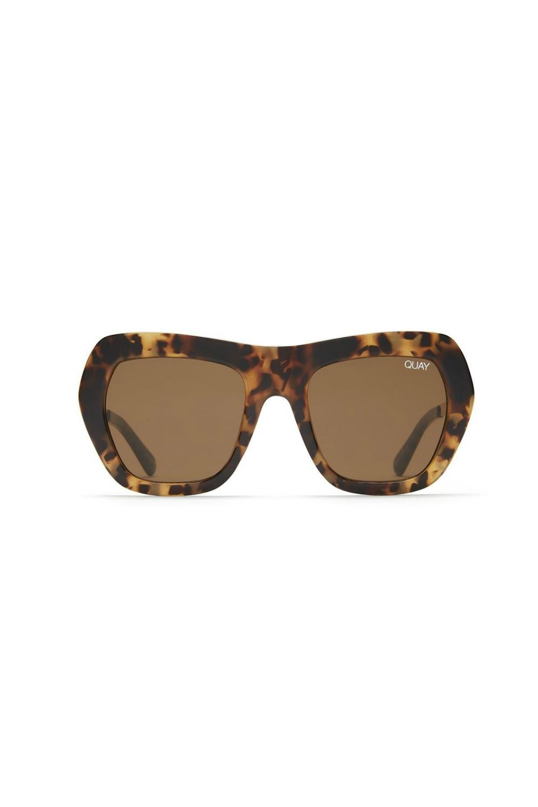 Quay Australia Common Love Sunnies - Front Cropped Image