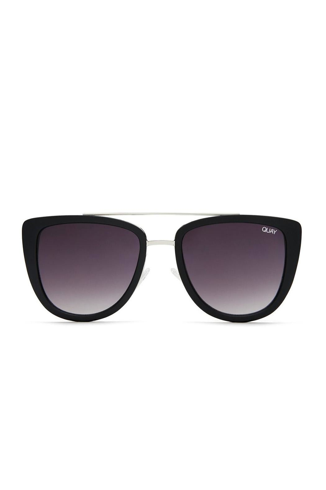 Quay Australia French Kiss Sunglasses - Front Cropped Image