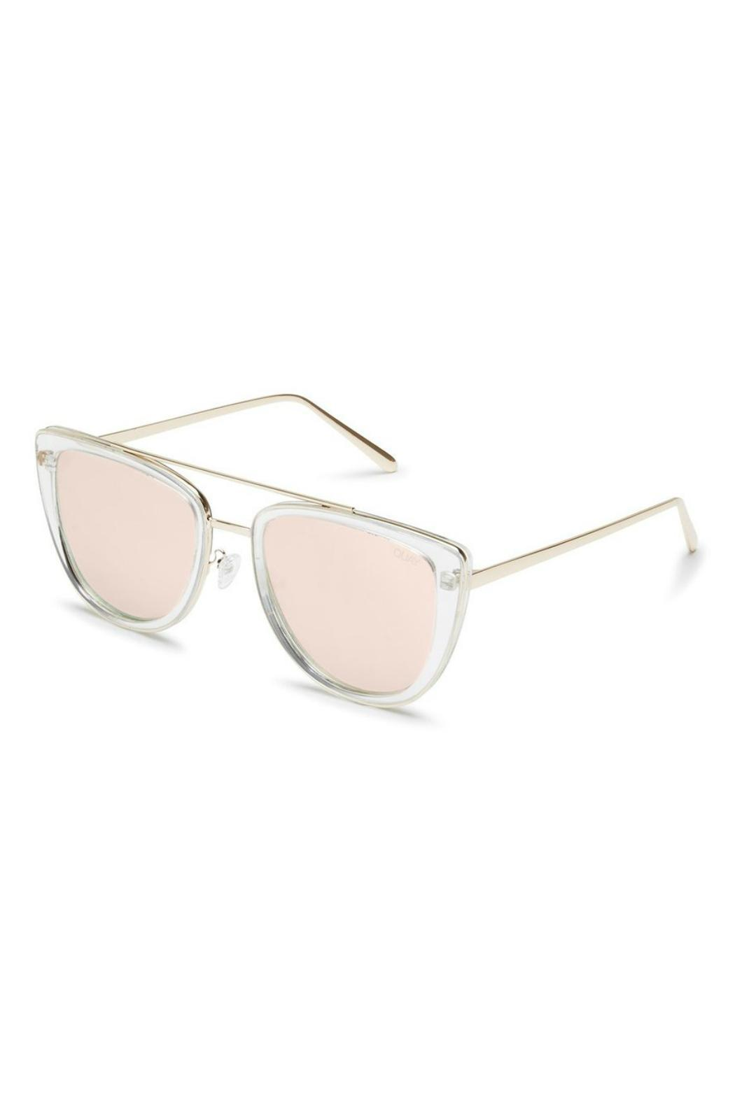 Quay Australia French Kiss Sunnies - Front Full Image