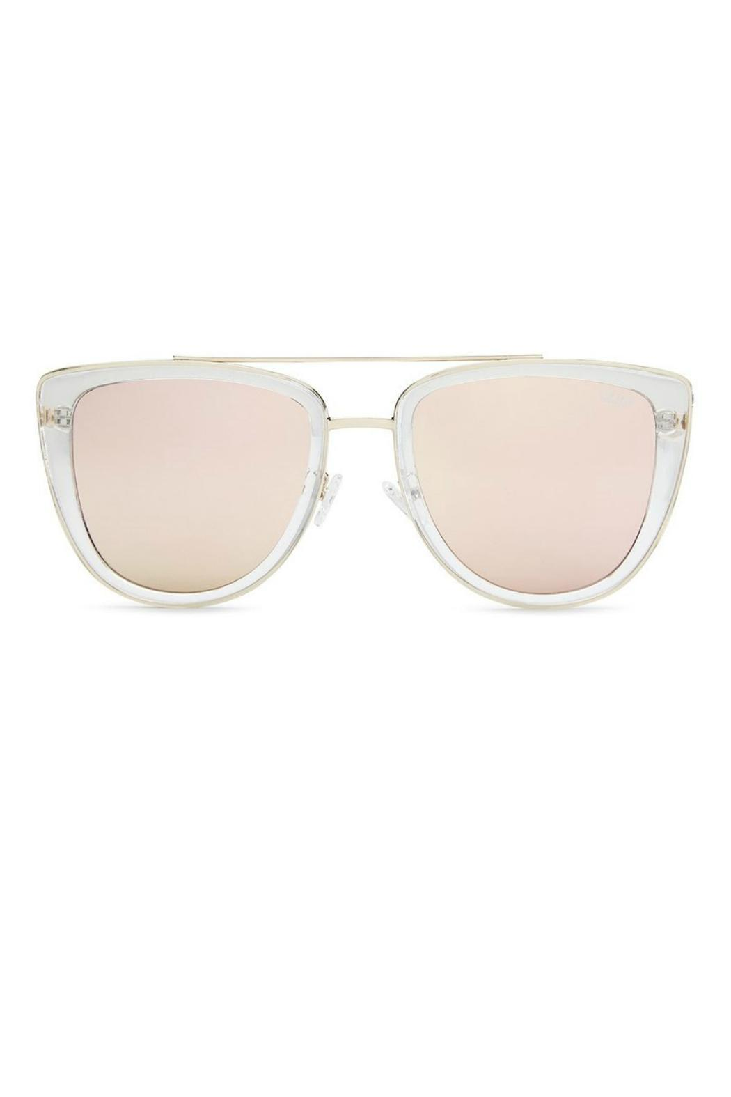 Quay Australia French Kiss Sunnies - Front Cropped Image