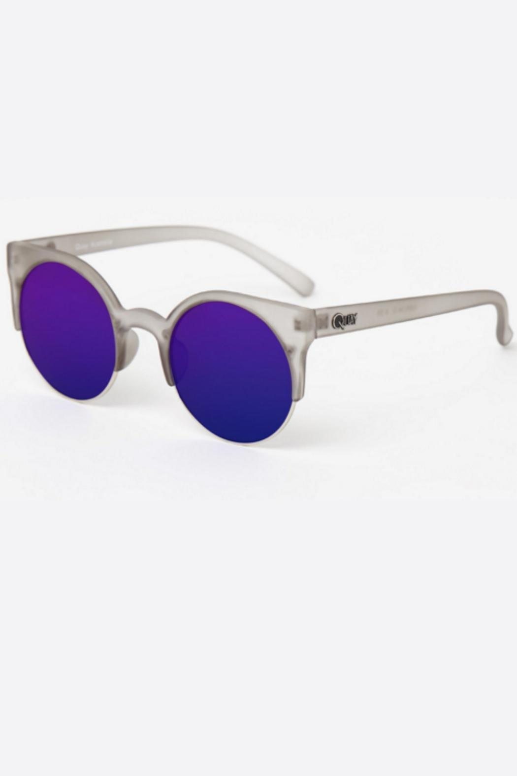 1c02f9da9b Quay Australia Harlem Purple Grey Sunglasses from Las Vegas by R+D ...