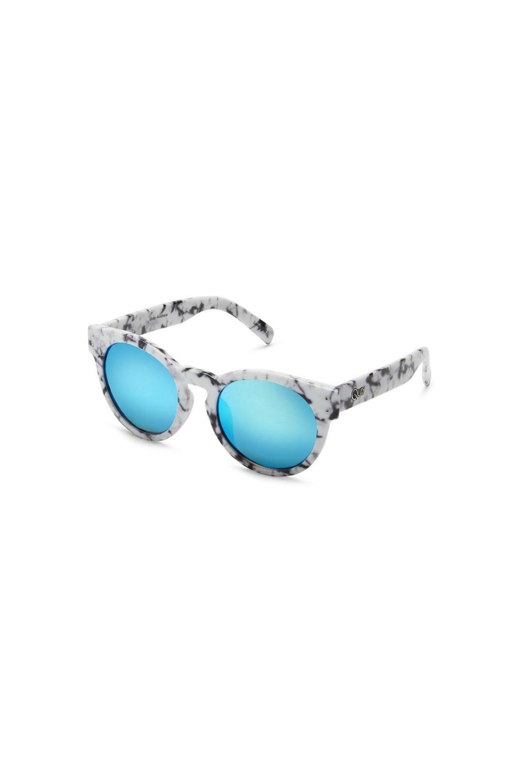 Quay Australia High Emotion Sunglasses - Side Cropped Image