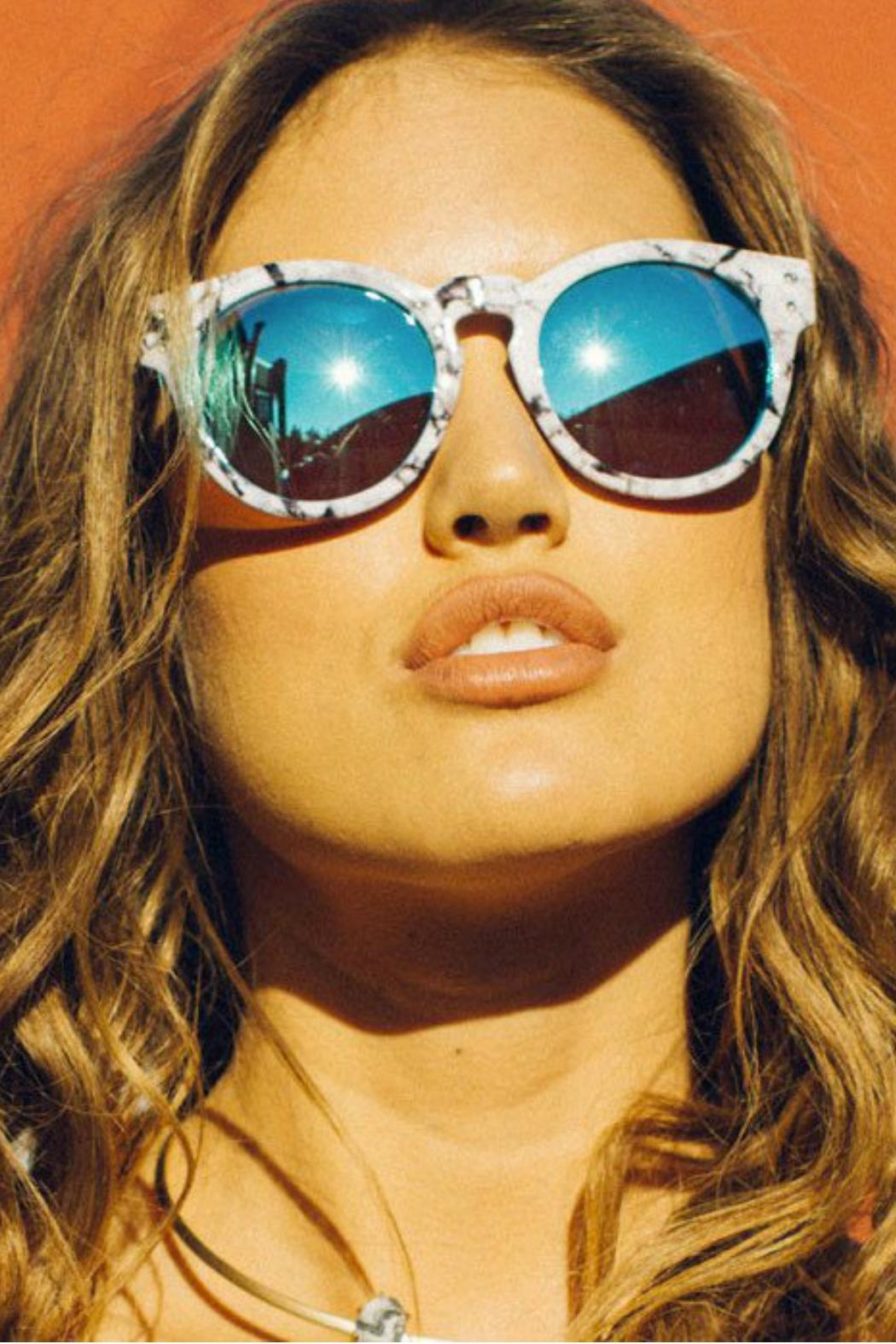 Quay Australia High Emotion Sunglasses - Back Cropped Image
