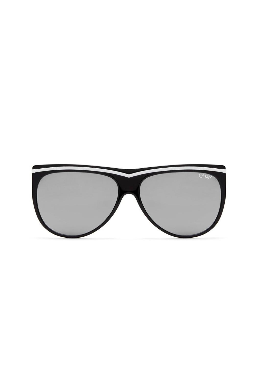 Quay Australia Hollywood Nights Sunglasses - Front Cropped Image