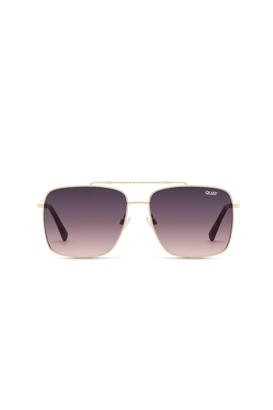 Quay Australia Hot Take Sunnies - Front Cropped Image
