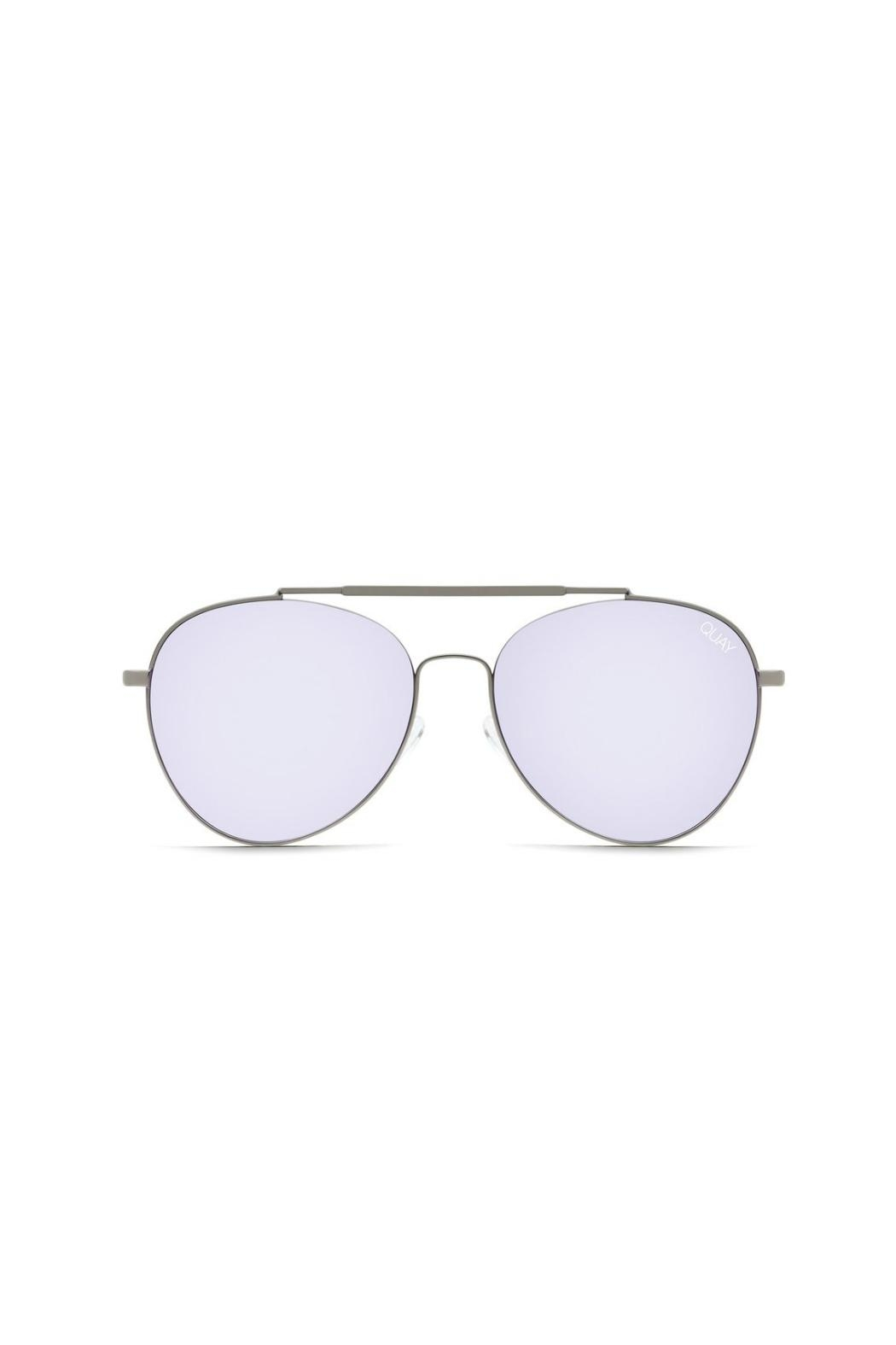 Quay Australia Lickety Split Sunnies - Front Cropped Image