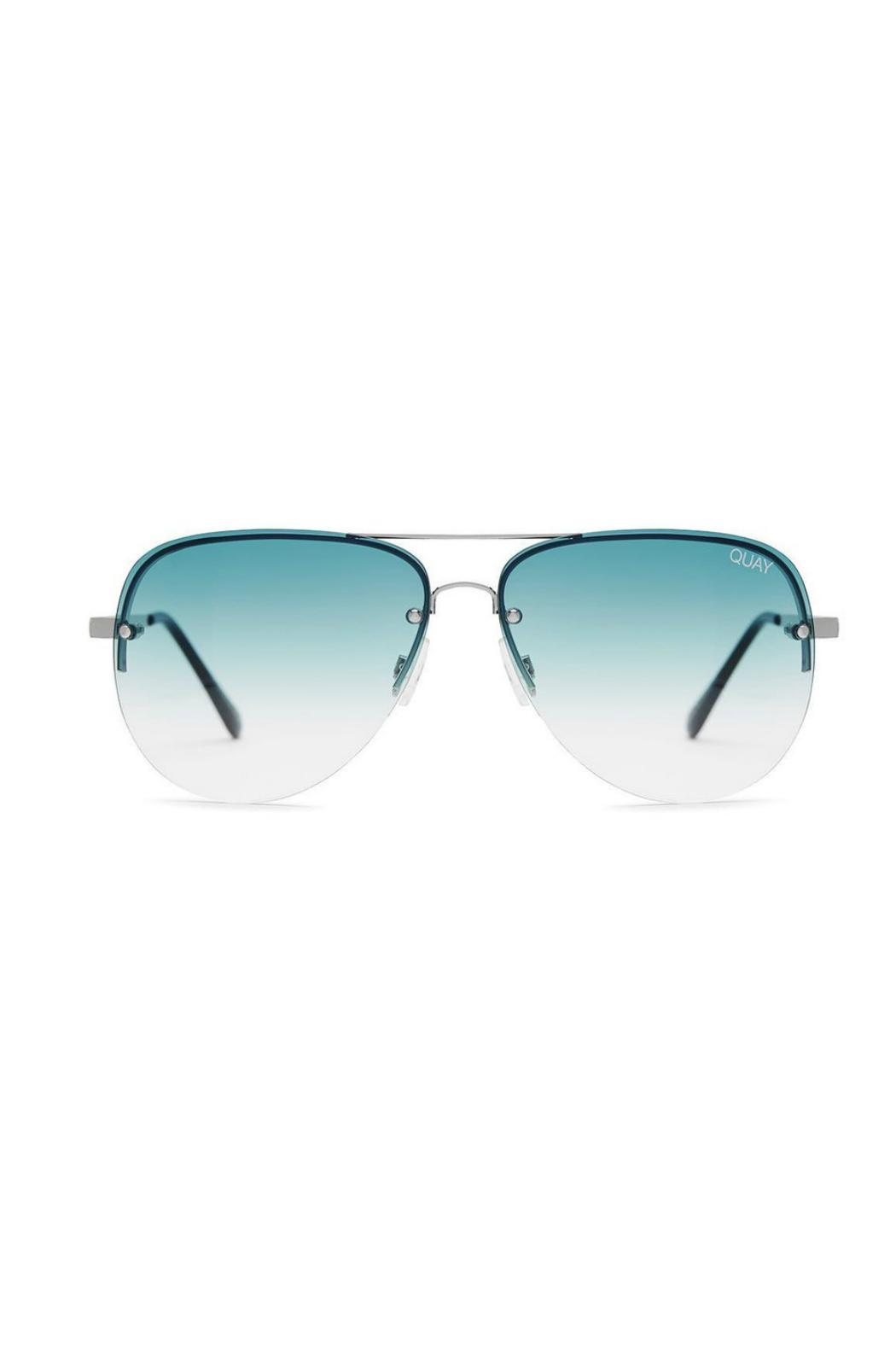 Quay Australia Muse Fade Sunnies - Front Cropped Image