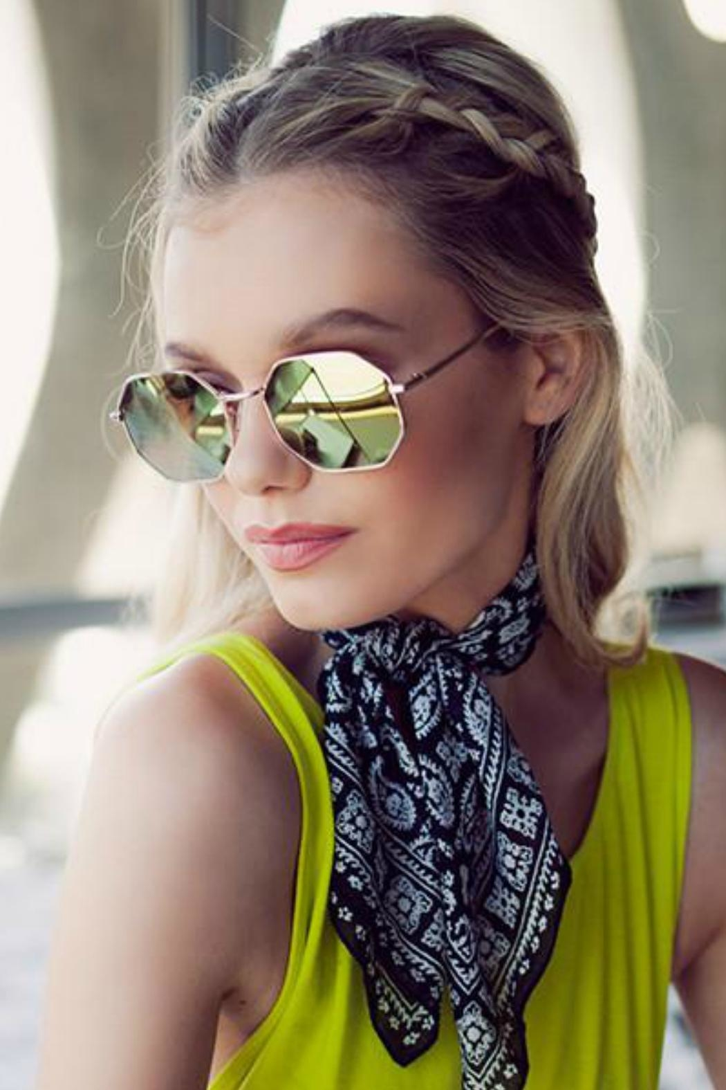 Quay Australia On A Dime Sunnies - Front Full Image