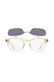 Quay Australia Penny Royal Sunnies - Side cropped