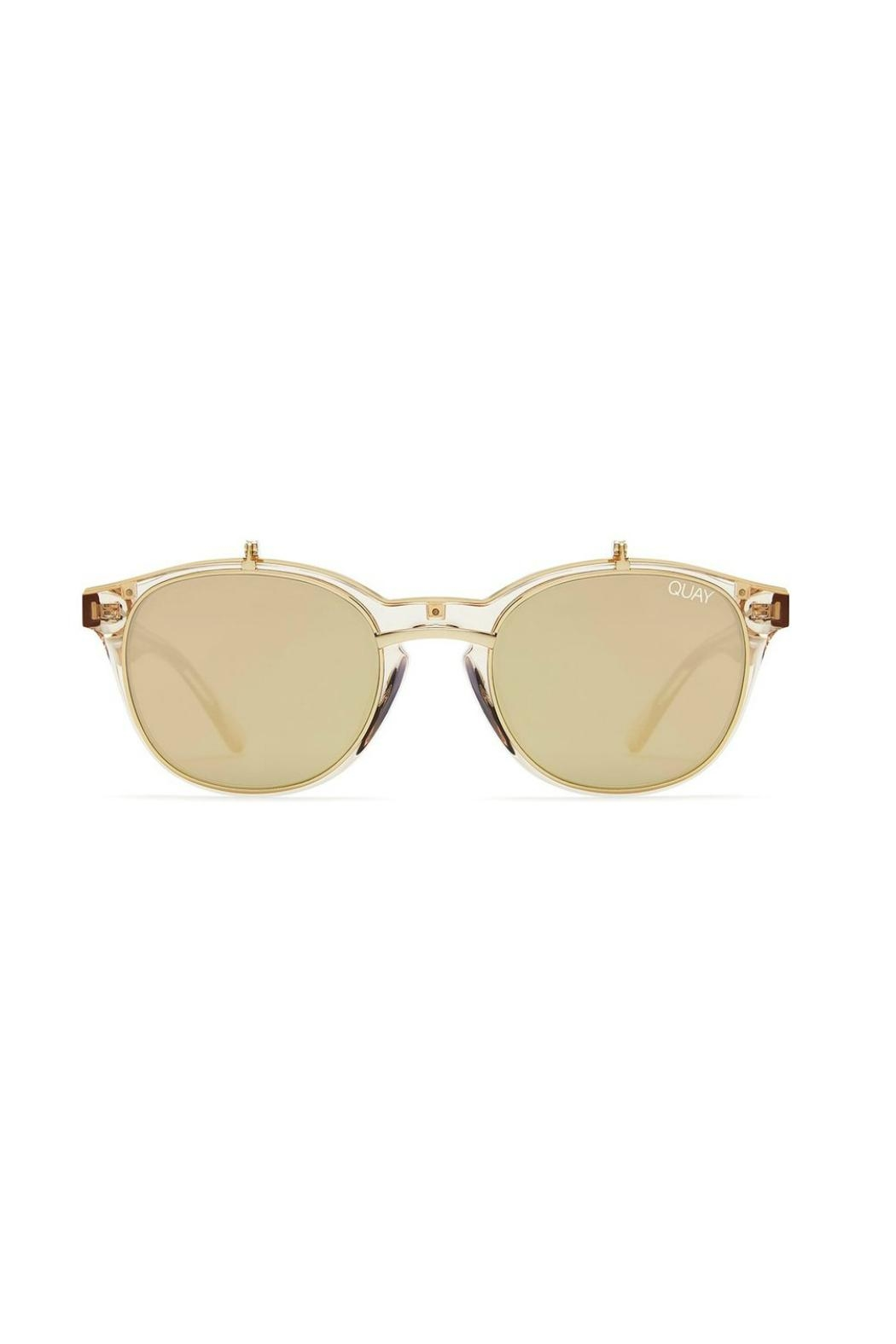 Quay Australia Penny Royal Sunnies - Front Cropped Image
