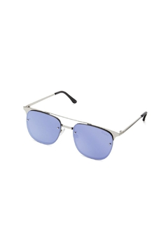 Quay Australia Private Eyes Silver Sunnies - Alternate List Image
