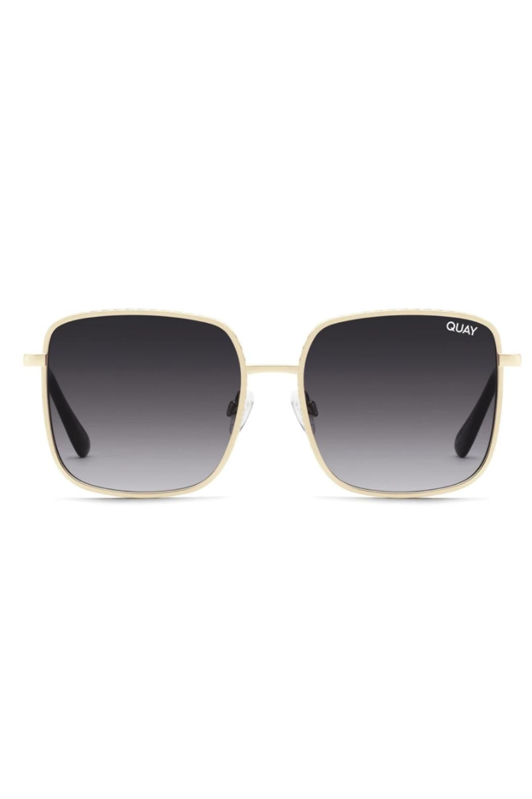 Quay Australia Real One Sunglasses - Front Cropped Image