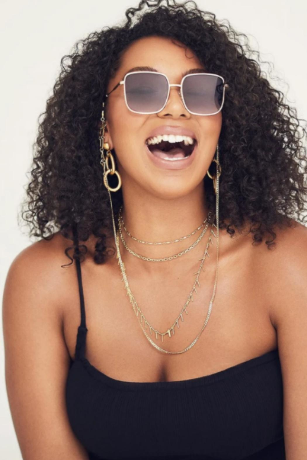 Quay Australia Real One Sunglasses - Side Cropped Image