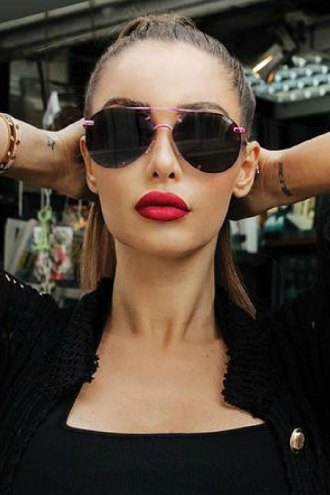 Quay Australia Rebelle Sunnies - Side Cropped Image
