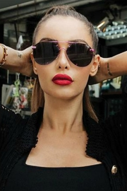 Quay Australia Rebelle Sunnies - Side cropped