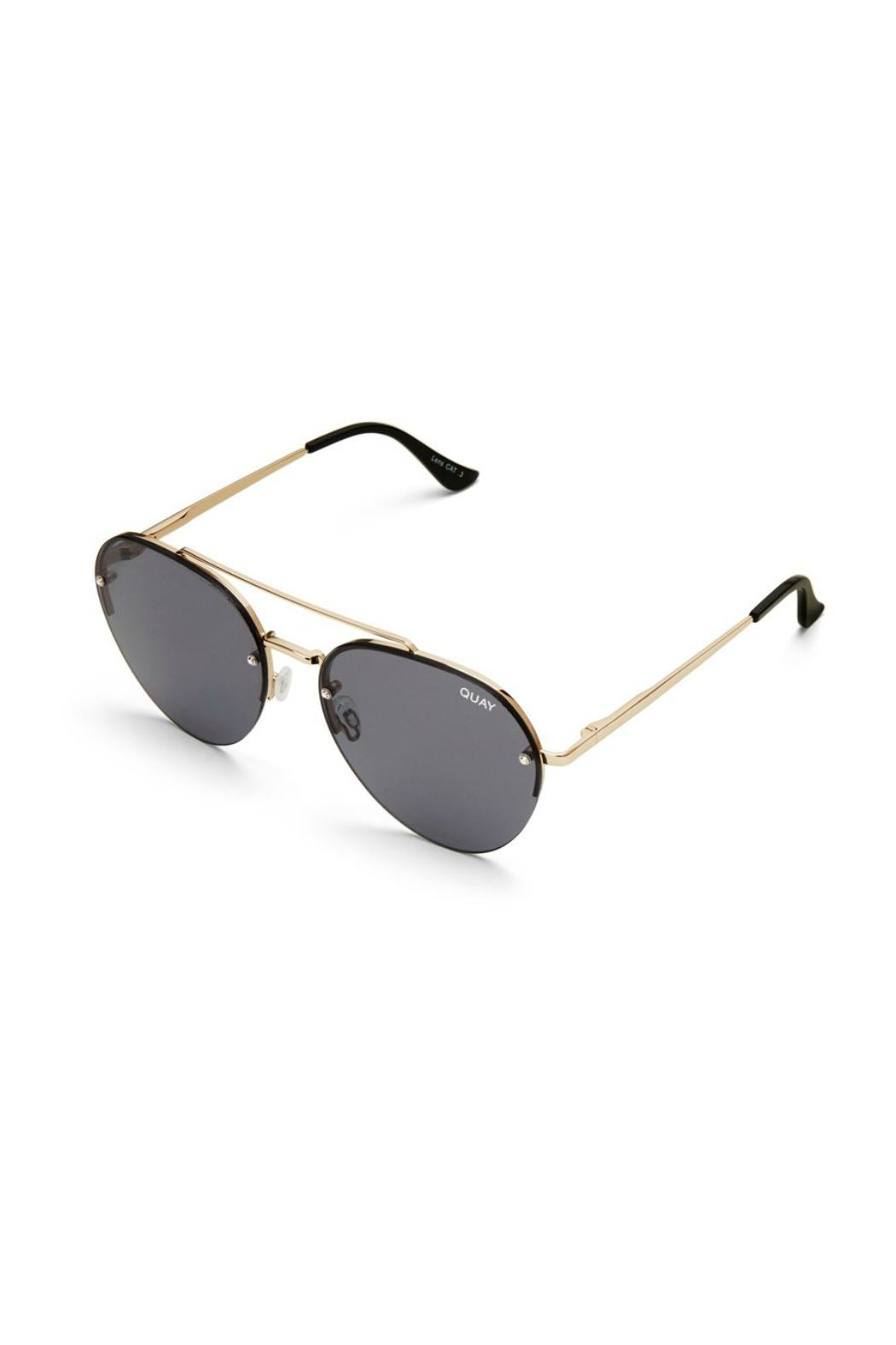 Quay Australia Somerset Aviator Sunnies - Back Cropped Image