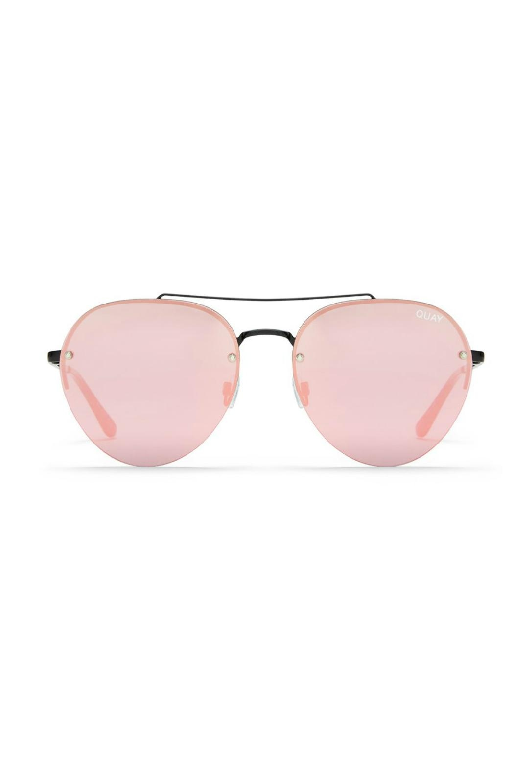 Quay Australia Somerset Aviator Sunnies - Front Cropped Image