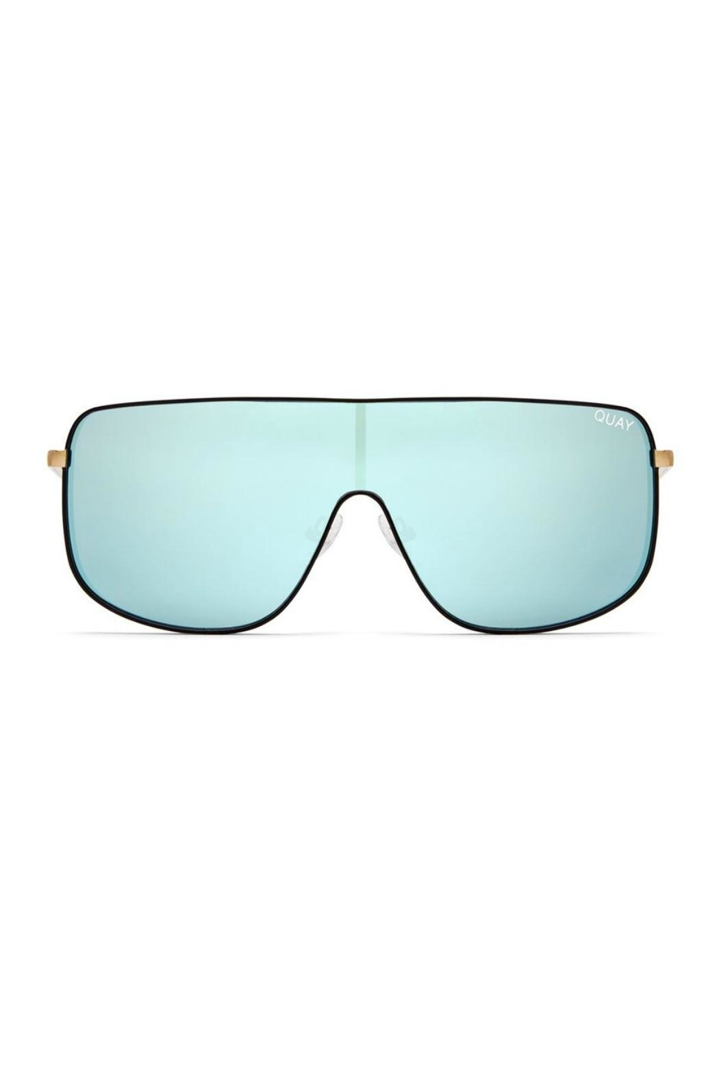 Quay Australia Unbothered Quayxkylie Sunnies - Front Cropped Image