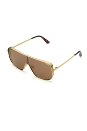 Quay Australia Unbothered Quayxkylie Sunnies - Front full body