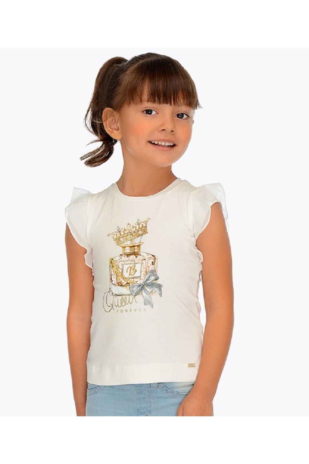 Mayoral QUEEN B TEE - Back Cropped Image