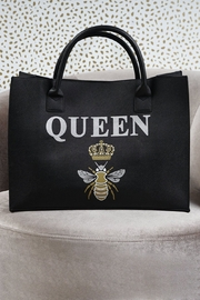 Los Angeles Trading Co.  Queen B Vegan Tote - Product Mini Image