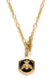 Amano Trading Queen Bee Necklace - Product Mini Image