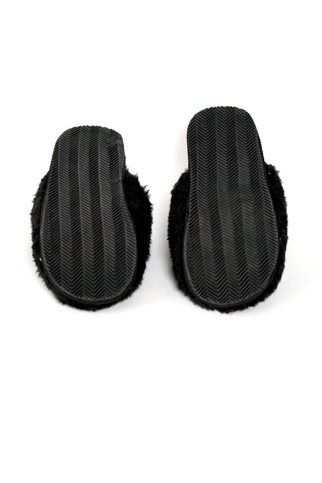 Los Angeles Trading Co.  Queen Bee Slippers - Side Cropped Image