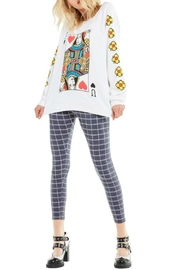 Wildfox Queen-Of-The-Damned Sweatshirt - Front full body