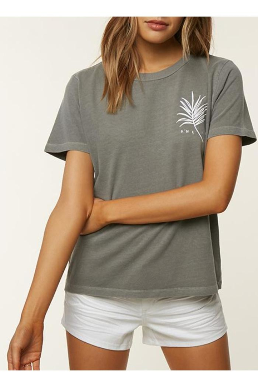 O'Neill Queen Palm Tee - Front Full Image