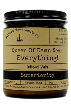 Malicious Women Candle Co. Queen Soy Candle - Product List Image