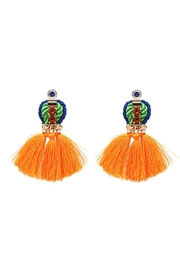 Madison Avenue Accessories Queenly Orange Earring - Product Mini Image
