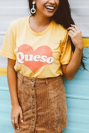 Friday + Saturday Queso Graphic Tee - Front cropped