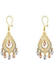 Quetzal  Boutique Vintage Style Chandelier Earrings - Product Mini Image