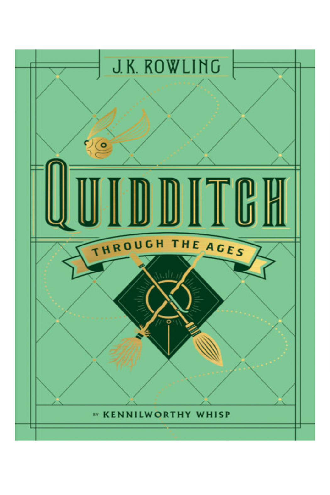 Scholastic Quidditch Through The Ages - Front Cropped Image