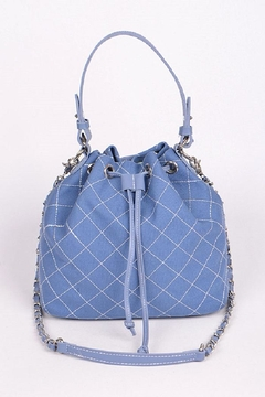 Shoptiques Product: Quileted Bucket Bag