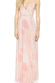 Rachel Pally Quill Printed Spaghetti Strap Maxi Dress - Product Mini Image