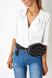 frontrow Quilted Belt Bag - Front full body