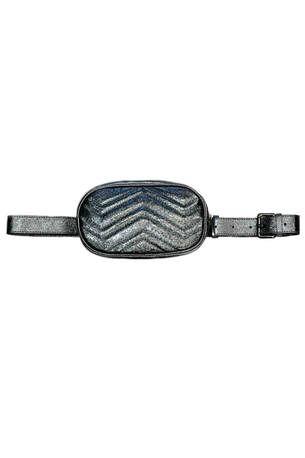 Leather Country Quilted Belt Bag - Main Image