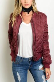LM Quilted Bomber - Product Mini Image