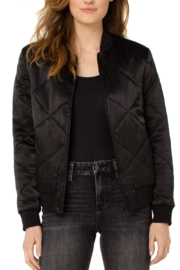 Liverpool  Quilted Bomber Jacket - Front cropped