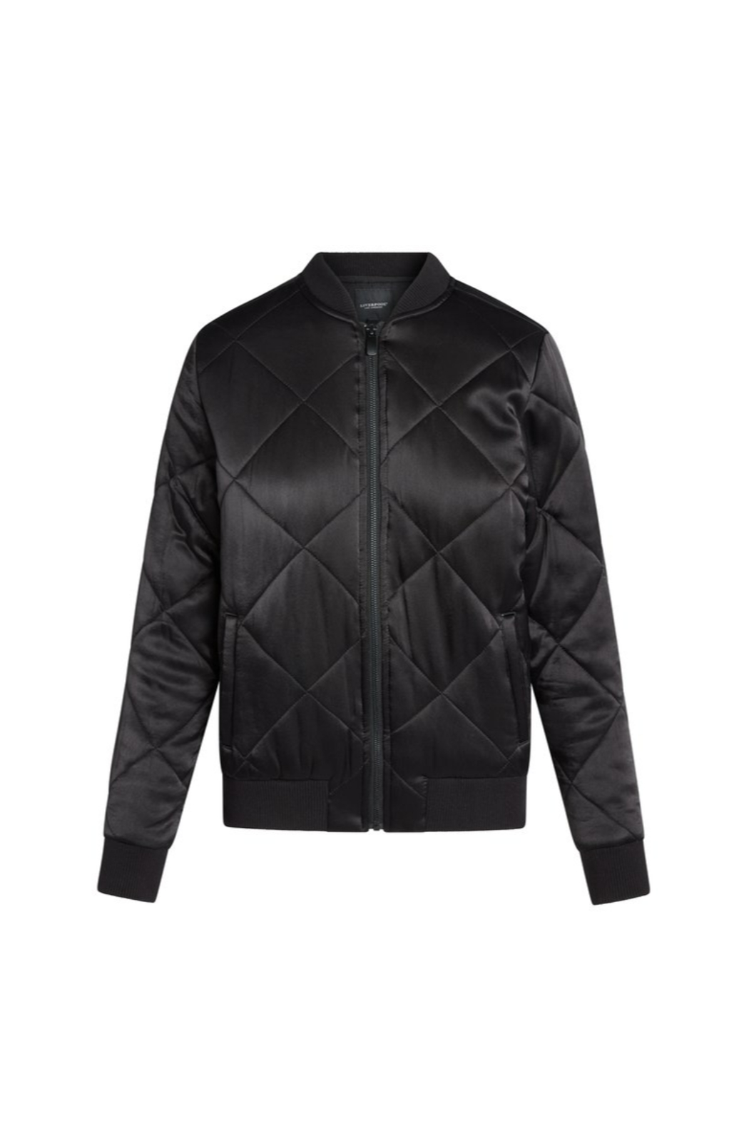 Liverpool  Quilted Bomber Jacket - Side Cropped Image