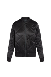 Liverpool  Quilted Bomber Jacket - Side cropped