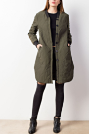 Mittoshop Quilted Button Down Jacket - Product Mini Image