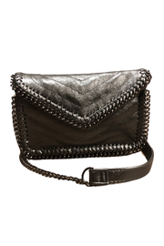 Sondra Roberts Quilted Chain Crossbody - Product Mini Image