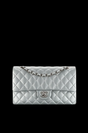Doe a Dear Quilted Chanel-Style Purse - Front cropped
