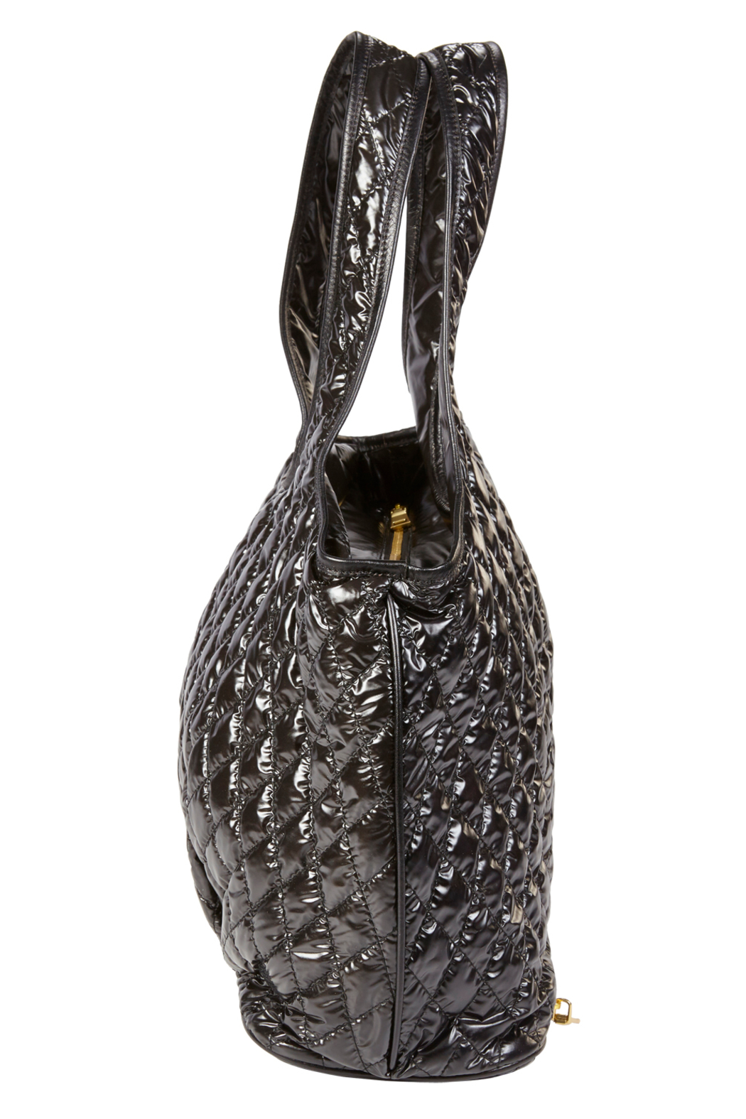 Clava Quilted Commuter Tote - Back Cropped Image