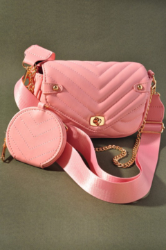 Mereiville  Quilted Crossbody Bag - Product List Image