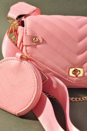 Mereiville  Quilted Crossbody Bag - Product Mini Image