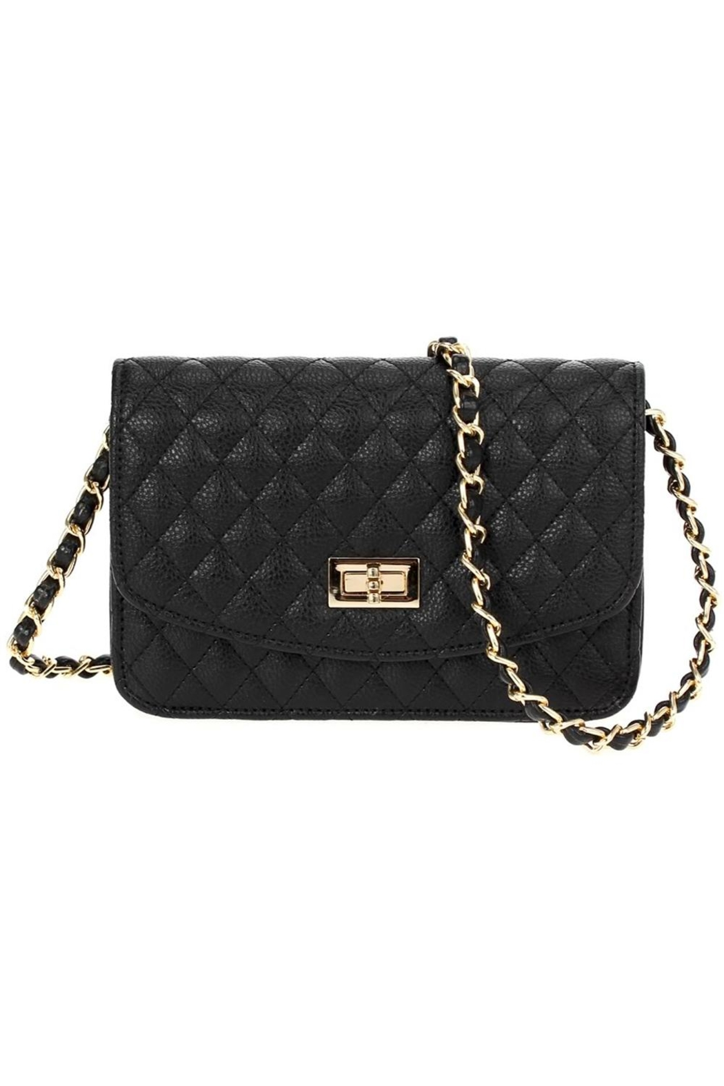 joseph d'arezzo Quilted Crossbody Bag - Front Cropped Image